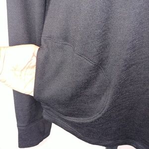 Old Navy Sweaters - NWT Drawstring Cowl neck Black Sweater